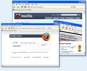Mozilla Firefox 1.5.0.6
