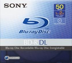 50-гигабайтные Blu-ray