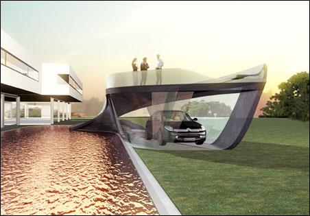 Гараж будущего от Citroen