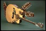 Акустическая гитара с 42-мя струнами