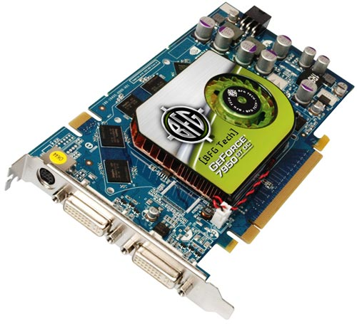 GeForce 7950 GT и GeForce 7900 GS от BFG