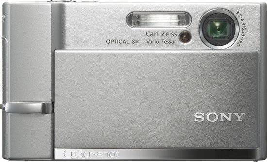 Sony T50 и Sony N2 - сенсорные фотоаппараты