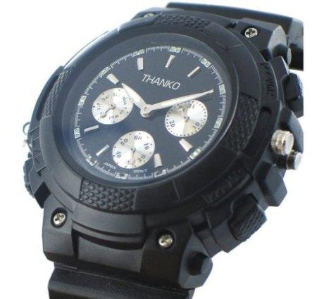 В таком случае, вам не обойтись без устройства наблюдения в виде часов мы предлагаем вам шпионские наручные часы с камерой.