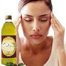 Оливковое масло лечит от головной боли