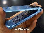 Samsung SCH-V900: телефон в лазурном цвете
