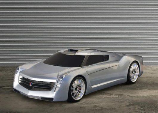 Экологичный супер-кар - EcoJet