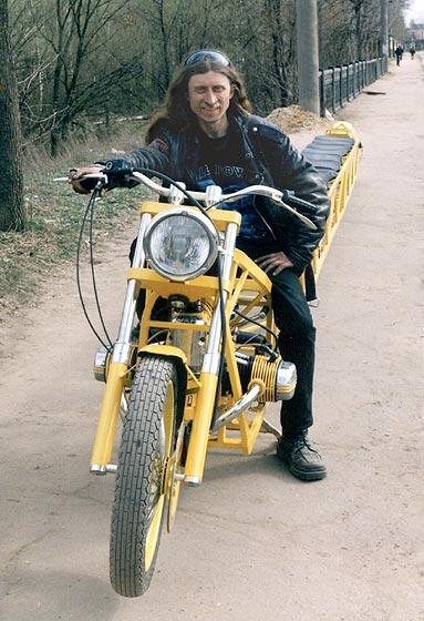Самый длинный мотоцикл