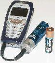 Мобильнику запасная батарейка