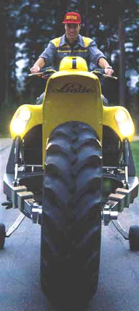 Самый высокий мотоцикл - Bigtoe