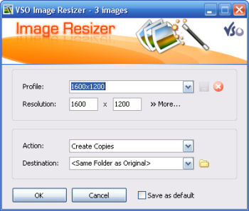 VSO Image Resizer 1.0.9