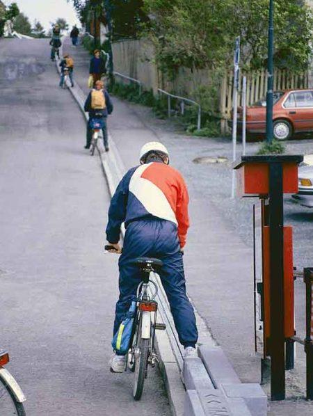 Лифт-подъемник для велосипедистов