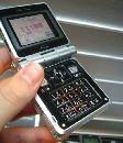 Мобильный телефон на солнечных батареях