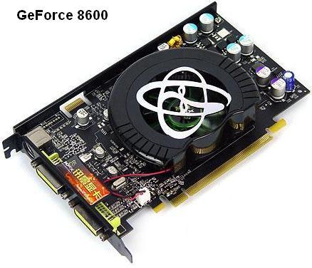 GeForce 8600 Ultra/GT, 8300 GS/GT