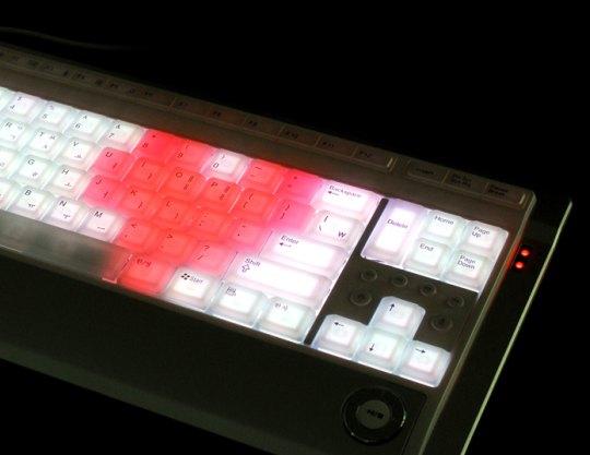 Клавиатура с подсветкой и светомузыкой