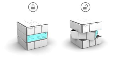 Кубик Рубика и МР3-плеер в одном