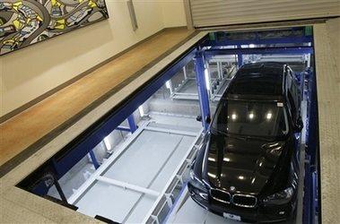 Автоматизированная парковка - в Нью-Йорке
