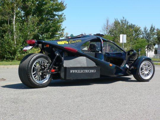 Silence PT2 – трехколесный электромобиль, почти в продаже