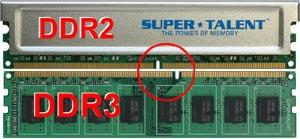 Память DDR3 производства Super Talent