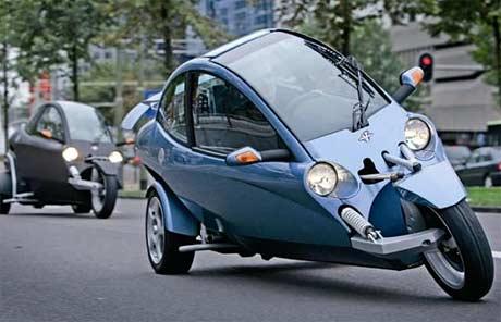 VentureOne - трехколесный мотоцикл-гибрид