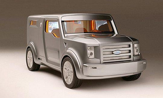 Ford SYNUS - бронированный мобильный дом
