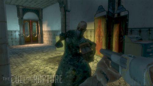 Доктор с гранатой из Bioshock