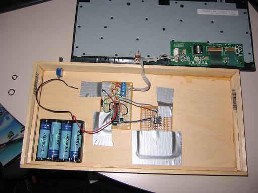 Самодельный деревянный ноутбук