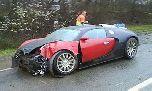 Самый дорогой автомобиль в мире разбился