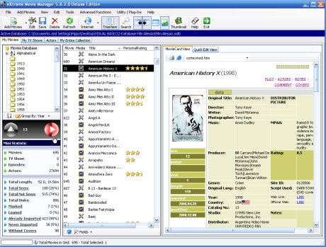 eXtreme Movie Manager 5.7.7
