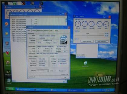 Мировой рекорд разгона Intel Core 2 Extreme Q6700