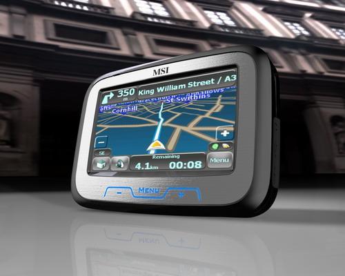 Мобильный ТВ, GPS-модуль и плееры от MSI