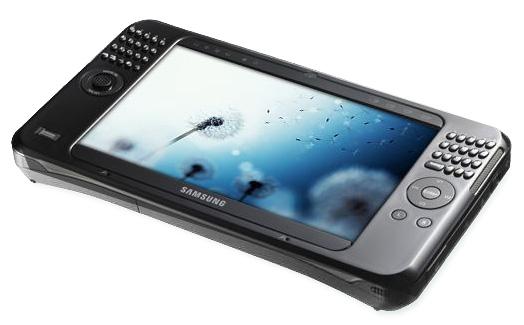Samsung Q1 Ultra - новый ултрамобильный ПК на Vista'е