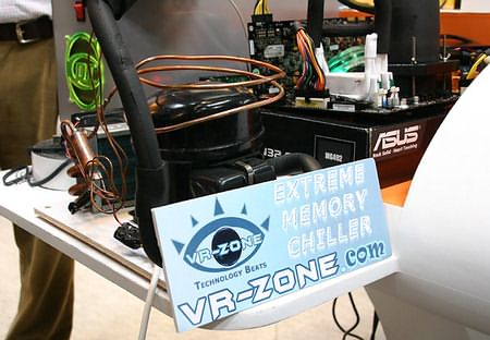 Экстремальный кулер для памяти от VR-Zone