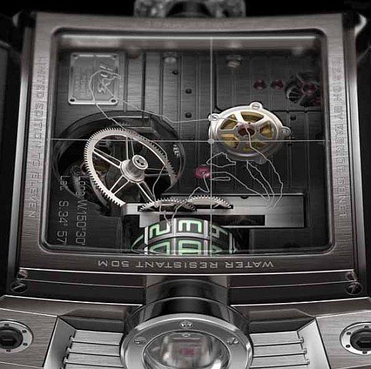 Vulcania – концептуальные часы стали реальностью