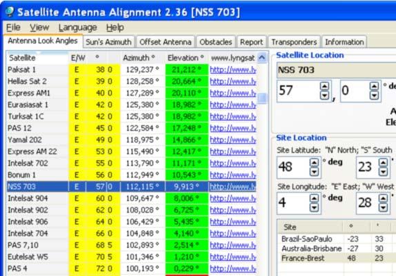 Satellite Antenna Alignment скачать Rus