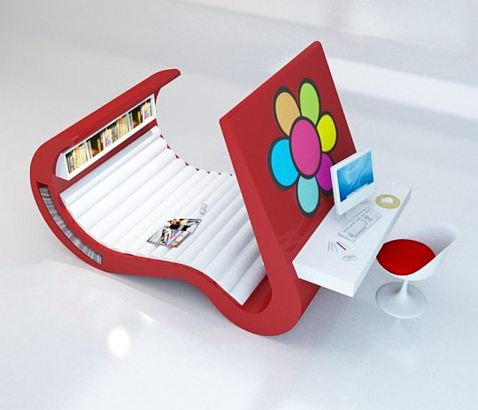 Необычная мебель будущего для тинейджеров