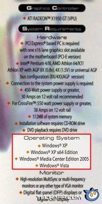 Наклейка Certified for Vista о совместимости не говорит