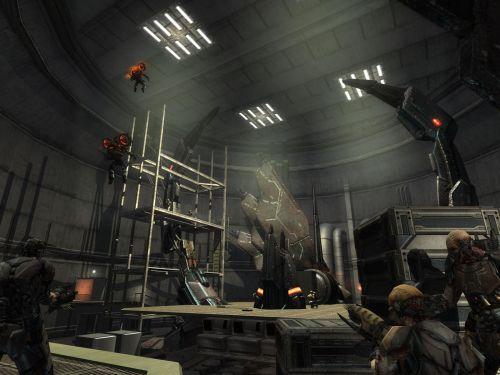 Несколько скринов Enemy Territory: Quake Wars