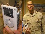 iPod спас американскому солдату жизнь