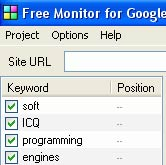 Free Monitor for Google 2.0.6.18