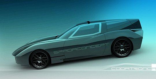 Codatronica – новый итальянский спорткар