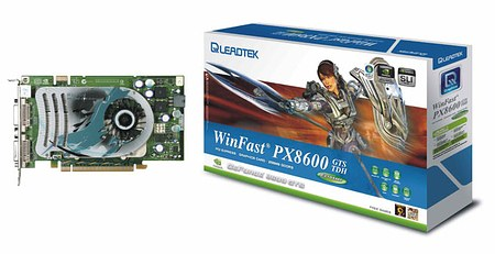 Leadtek: PX8600 GTS/ PX8600 GT/ PX8500 GT