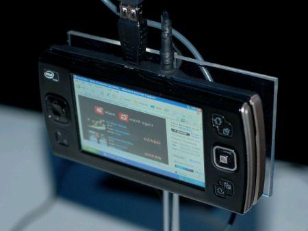 Прототип UMPC-2008 на платформе Menlow