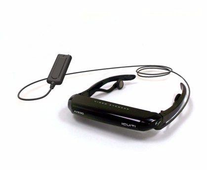 ЖК-очки iCuiti AV230 – портативный домашний кинотеатр