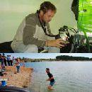 Биолог прожил 12 дней на дне озера
