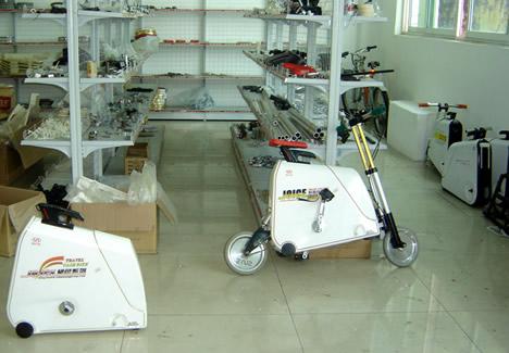 Складной велосипед-чемодан - уже в производстве