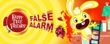 Экшен Happy Tree Friends False Alarm