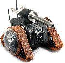Робот VIPeR стреляет из автомата и метает гранаты