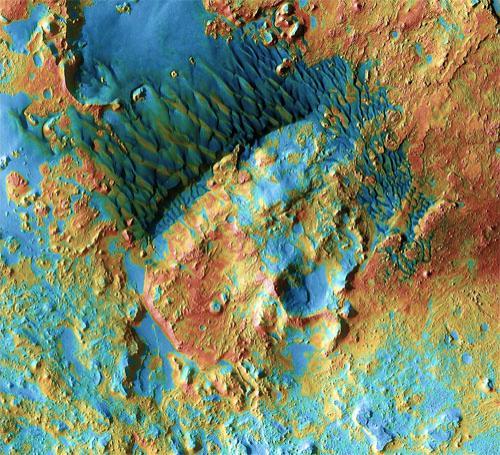 Марсианская мозаика