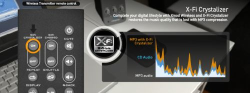 Xmod Wireless улучшает качество звучания MP3