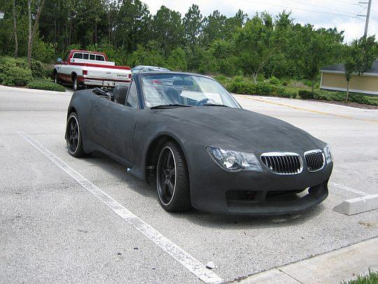 Mazda превращается…в кабриолет BMW!